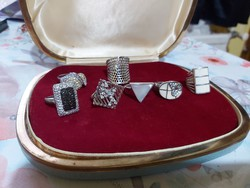 Ezüst  gyűrűk