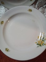 Zsolnay lapos tányér
