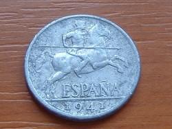 SPANYOL 10 CENTIMOS 1941 ALU.