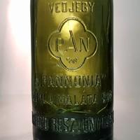 """""""Pannonia Dupla Maláta Sör Pannonia Sörfőző Részvénytársaság Pécsett 0'48l"""" sörösüveg (989)"""