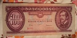 100 Forint 1957.