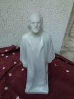 Herendi porcelán szobor Jézus,Isten,régi jelzéssel Horvai J.terve!!nagyon régi jelzéssel!Különleges