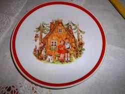 Mese tányér  Jancsi és Juliska Kahla porcelán