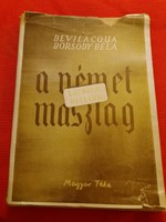 Antik politikai könyv Borsódy Béla: A német maszlag 1. Ottótól Hitlerig