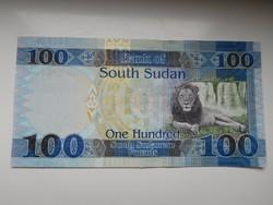 Dél-Szudán 100 pounds 2017 UNC