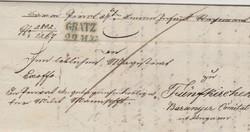 Bélyegelőtti levél Gratz-ból Pécsre