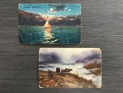Ritka gyűjteményi képeslapok, Balaton