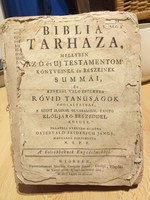 Biblia tárháza, Streibig Gergely János nyomdája, Győr, 1780. Borító nélkül