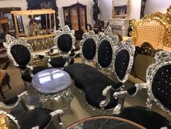8 féle barokk stílusú ülőgarnitúra szett