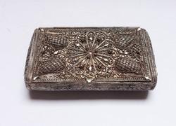 Libay Sámuel, filigrán ezüst szelence,kuriózum!