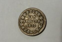 Nassau, 1 Krajcár 1832.