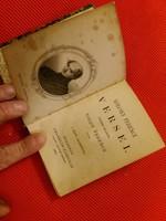 Antik kemény fedeles mini könyv  :Kölcsey Ferenc versei