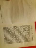 Antik kemény fedeles kis könyv  :Balzac : A Lidértz Szentgyörgyi hagyatékból