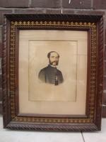 Canczi Ágost Elek (August Canczi): Nemesúr portréja, 1862