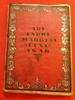 Antik első kiadás Ady Endrei : Margita élni akar könyv RITKA
