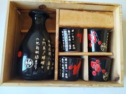 Japanese sake sett