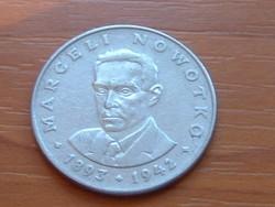 LENGYEL 20 ZLOTY 1974 M. NOWOTKO #