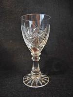 Talpas kristály likőrös pohár