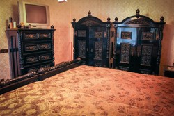 Neoreneszánsz restaurált hálószoba garnitúra igényes vevőnek eladó