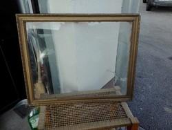 Antik Óarany képkeret üveggel