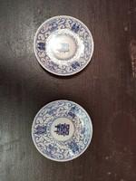Antik kínai porcelán tányér pár a 19. század első feléből!