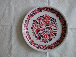 Alföldi falitányér, tányér