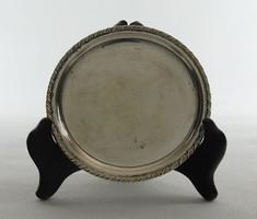 0W379 Régi jelzett olasz ezüst tálka 44 g