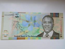 Bahama szigetek  1 dollár 2014 UNC