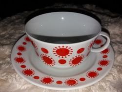 Napocskás retro teás csésze