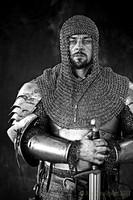 Ritka Acél Lánc csukja sisak alá fej páncél Fegyver kovács munka lovagi középkori múzeum i db