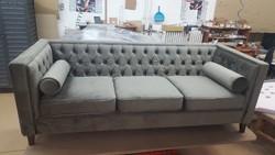 Chesterfield stílusú új kanapé