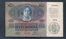 50 Korona 1914 UNC RITKA  kn10354