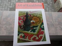 Art of Kazakhstan,mapa 20 db,51x36 cm...most akció !