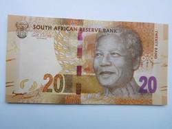 Dél-Afrikai Közt 20 rand 2014 UNC