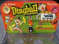 Flipper Ding Ball játék retró