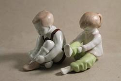 Aquincumi fiú és kislány 413