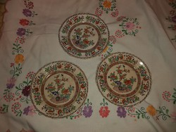 Bombay Japan antik tányérok 1850 es évek.