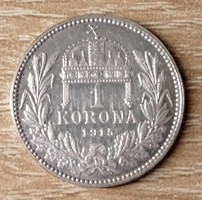 1 Korona 1915 K.B