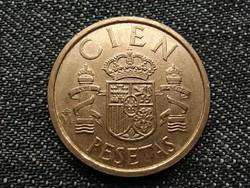 """Spanyolország I. János Károly (1975-2014) 100 """"CIEN"""" Peseta 1984 / id 15856/"""