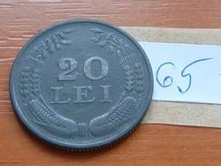 ROMÁNIA 20 LEI 1942 CINK 65.