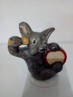 Bodrogkeresztúri retro kerámia figura