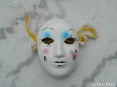 Velencei maszk - porcelán