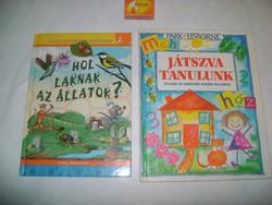Hol laknak az állatok? Játszva tanulunk - két darab gyermek könyv