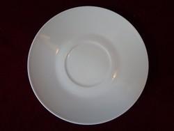 Melitta német porcelán teáscsésze alátét, 14 cm átmérővel, vitrin minőség.