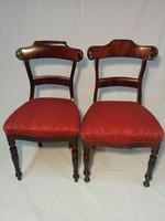 Mahagóni 2db szék
