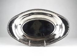 0X941 Régi ovális alakú ezüst asztalközép 230g