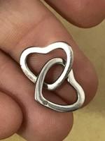 Gyönyörű Ezüst  medál brilliáns kővel 925-ös valódi ezüst ékszer  Ajandeknak is kiváló