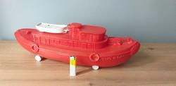 Marx Toy Tug Boat hajó 1950-es évekből