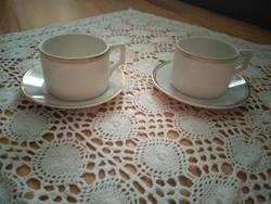 Zsolnay kávéscsésze párban