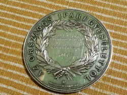 Országos Iparegyesületi ezüst emlékérme 1903 Schlichter József kőmivesnek